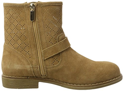 Ladies Suede Donna Da Scarpe Boots Beige Xti Camel Barca Ankle Camel camel Ewp6q