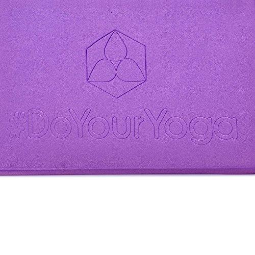 doyouryoga Bloc Violet Légère De Très Mousse Yoga Aruna En Rigide rZqCTrw