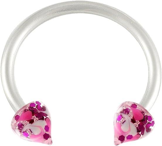 Amazon Com Bodyjewellery Septum Jewelry Spike Hoop Lip Ring 16