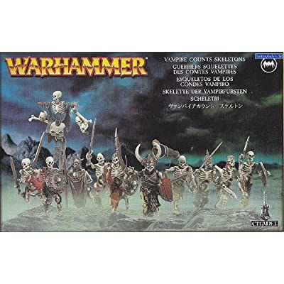 "Games Workshop 99120207040"" Deathrattle Skelaton Warriors: Toys & Games"