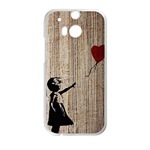Happy Spoony boy Cell Phone Case for HTC One M8