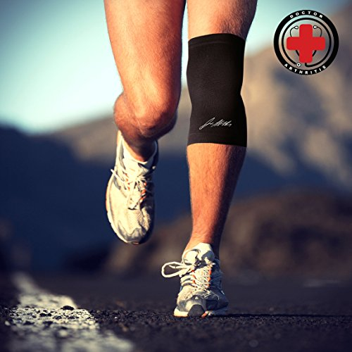 0e899808dd Doctor Developed Copper Knee Brace & Knee Compression Sleeve AND DOCTOR  WRITTEN HANDBOOK — GUARANTEED relief