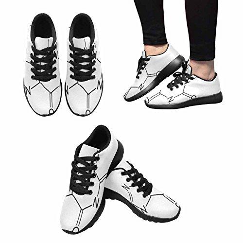 Scarpa Da Jogging Leggera Da Donna Running Running Leggera Easy Go Comfort Casual Scarpe Da Corsa Caffeina Struttura Chimica Multi 1