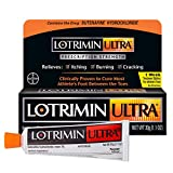 Lotrimin Ultra 1 Week Athlete's Foot Treatment, Prescription Strength Butenafine Hydrochloride 1%, Cures Most Athlete's Foot Between Toes, Cream, 1.1 Ounce (30 Grams)