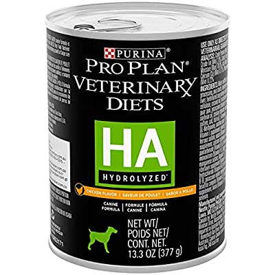 Purina Pro Plan Veterinary Diets HA Hydrolyzed Formula Chicken Flavor Pate Adult Canned Dog Food 12/13.3 oz
