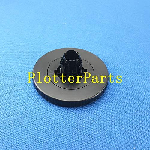 (Q6651-40164 END Cap Black for HP DesignJet Z6100 Z6100PS Plotter Parts Original Used)