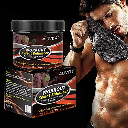 Sweat Cream Weight Loss Fat Burner for Women,Fitness Cream,Sweat Cream for Weight Loss, Fat Loss, Muscle Gain, Etc. 1