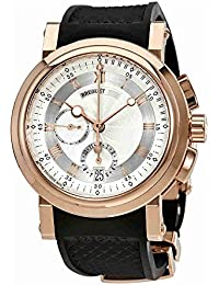 Marine Automatic 18kt Rose Gold Mens Watch 5827BR/12/5ZU. Breguet