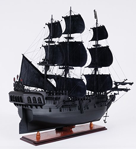 Old Modern Handicrafts Pearl Pirate Ship, Medium, Black by Old Modern Handicrafts (Image #4)