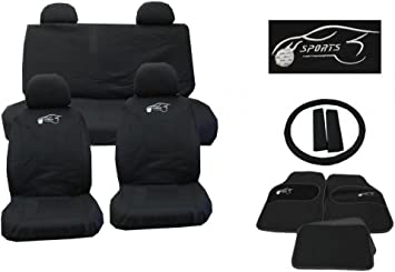 MAX SPORTS BLUE FULL SET TO  FIT A KIA PICANTO CAR SEAT COVERS
