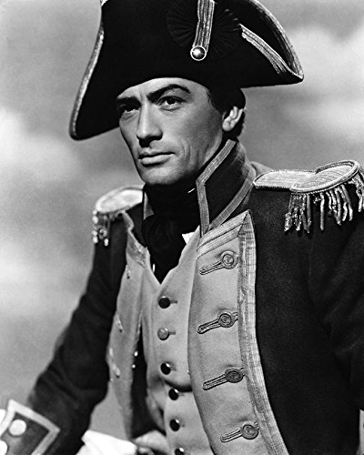 Gregory Peck In Captain Horatio Hornblower R.N. In Uniform Canvas Giclee