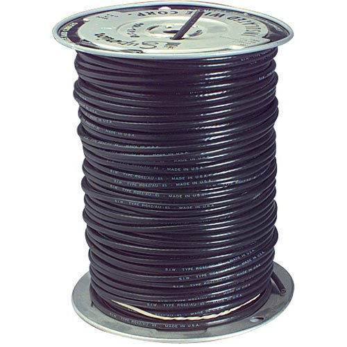 JSC Wire RG-6/U Coaxial Cable 100 ft. Made in USA