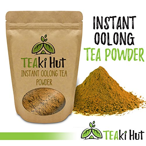 TEAki Hut Organic Instant Oolong Tea Powder (4 oz / 80 - Get Hut