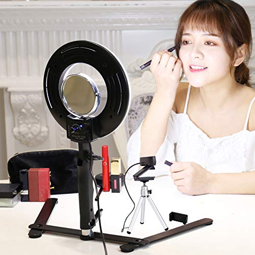 Konseen Table Top LED Selfie Ring Light
