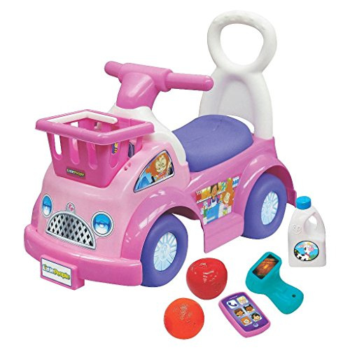 What do you buy a 1 year old girl for her birthday? Fisher-Price Little People Shop 'N Roll Ride-On