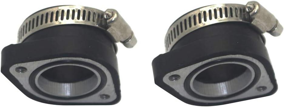 H Hilabee 2 Tlg Vergaser Ansaugstutzen Reduzieradapter 28mm Auf 35mm Fit Für Mikuni Oko Auto