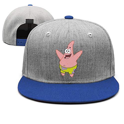 Man Spongebob-Squarepants-Patrick-Star- Snapback hat Trucker Hats Baseball