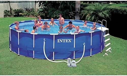 INTEX - INTEX Piscina frame 549x122+p.filtro: Amazon.es: Hogar