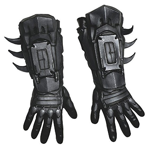 Batman Deluxe Dark Knight Arkham Gauntlets Adult Size Costume (Arkham Knight Batman Costume)