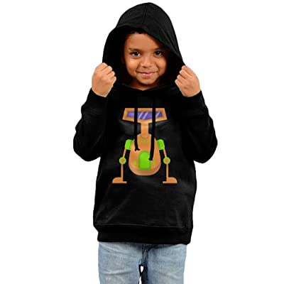 Baby Clothes Hooded Sweatshirt, Robot Cotton Infant Hoodie Tops For Boy Girls