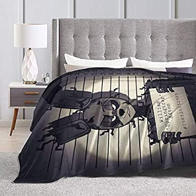 Fashion Fleece Bed Blankets, Springtrap FNAF Fanart Decorative Throw Blankets, Hypoallergenic Super Cozy Yoga Blanket for Kids Living Room Dorm Room: Home & Kitchen