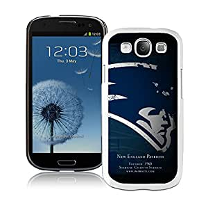 DIY Custom Phone Case For Samsung S3 New England Patriots 31 White Phone Case For Samsung Galaxy S3 Case