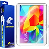 ArmorSuit MilitaryShield - Samsung Galaxy Tab 4 10.1 Screen Protector Anti-Bubble Ultra HD - Extreme Clarity & Touch Responsive with Lifetime Replacements Warranty