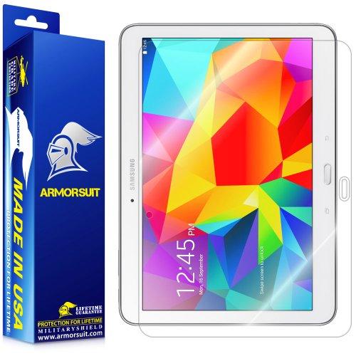(ArmorSuit Samsung Galaxy Tab 4 10.1 Screen Protector Max Coverage MilitaryShield Screen Protector For Galaxy Tab 4 10.1 - HD Clear Anti-Bubble)
