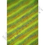 Rayon Sarong Life Spirals Green