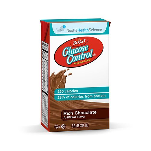 Boost Glucose Control Rich Chocolate Flavor 8 oz. Carton Ready to Use, 10043900360208 – Each