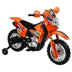 Battery-Operated-6V-Kids-Dirt-Bike-Orange