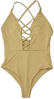 product image for Dippin' Daisy's Fabulous Caged Front Moderate Coverage One Piece Swimwear Monokini Swimsuits