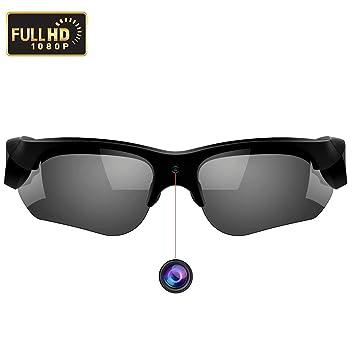 WBPINE 1080P - Gafas de Sol para cámara de vídeo ...