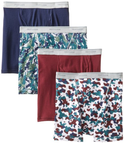 Fruit Of The Loom Mens  Boxer Brief - Colors May Vary, Camo/