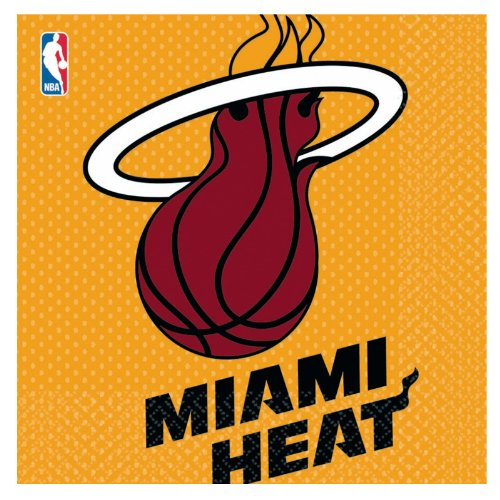 (Miami Heat Basketball - Lunch Napkins Party)