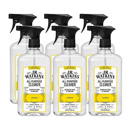J.R. Watkins All Purpose Cleaner, 24 fl oz, Lemon (6 pack) (J R Watkins Toilet Cleaner)