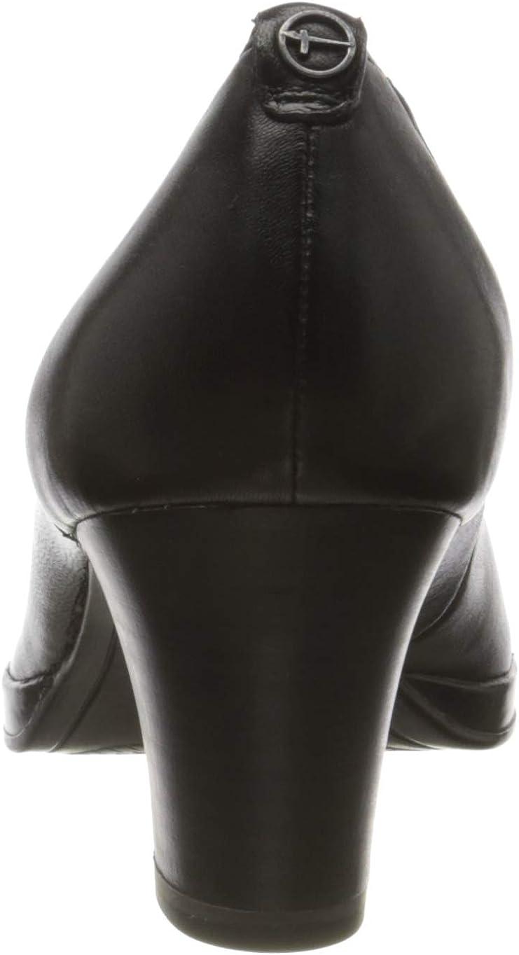 Tamaris 1-1-22446-24, Escarpins Bout fermé Femme Noir 1