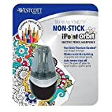 Westcott iPoint Orbit Electric Pencil Sharpener, Black (pack of 6)