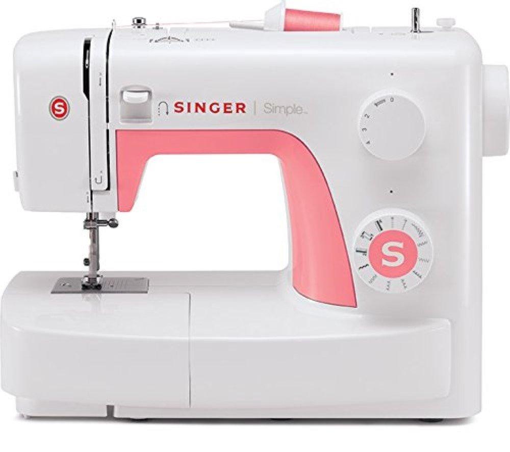 Singer Simple 3210 - Máquina de coser mecánica, 10 puntadas, 120 V, color