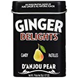 Ginger Delights Candy Tin, D 'Anjou Pear, 12 Count
