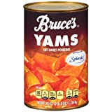 Bruce's Yams, Sweet Potatoes Sweetened with Splenda, 40 oz. can (2 Pack)