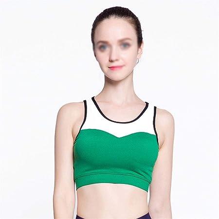 Oipoodde Sujetador Deportivo Sujetador de Yoga para Mujer ...