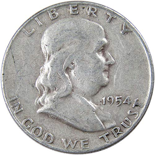 1954-D 50c Franklin Silver Half Dollar Average Circulated ()