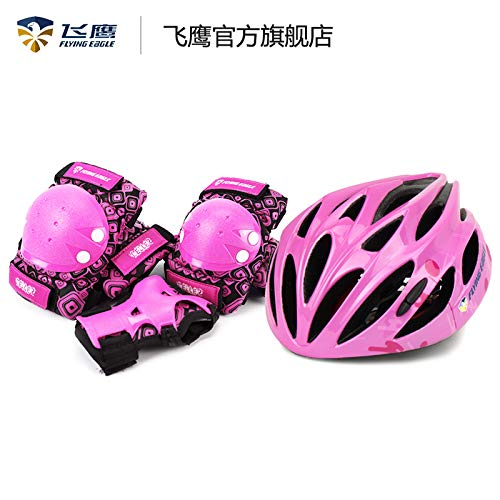 イーグルskeelerのCELLERスーツ子供たちのサポーターのヘルメットは、バランスバイクサポーター7セットをスライドさせ   B07S3MYXB2