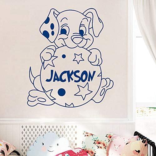 YuanMinglu Nombre Personalizado Cachorro dálmata Etiqueta de ...