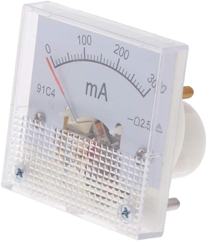 Fenteer Dc Analog Amperemeter Stromanzeige 0 300ma Baumarkt