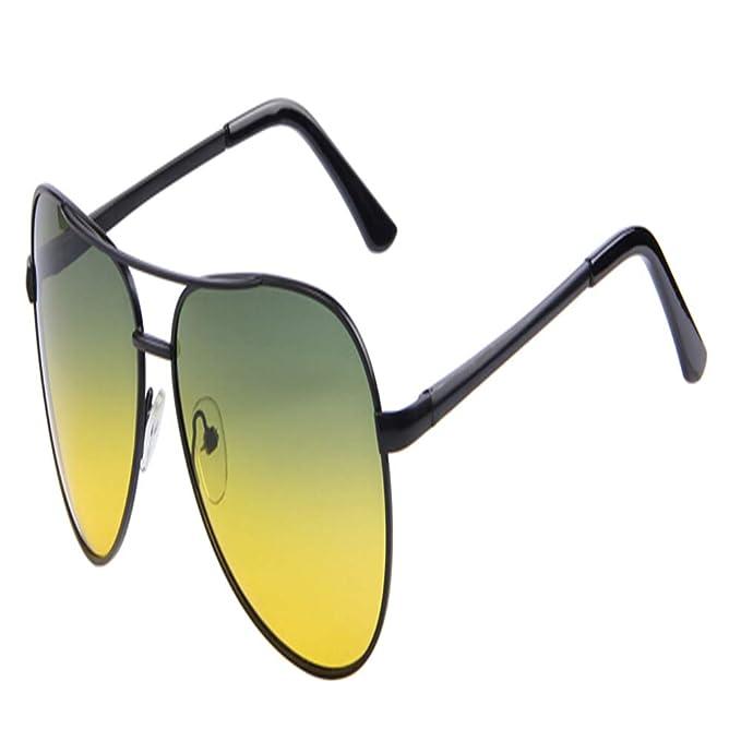 DEFJQQPL Sunglasses Hombres Polaroid Gafas de sol Visión nocturna Conducción Gafas de sol Gafas de sol polarizadas: Amazon.es: Ropa y accesorios