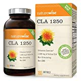 NatureWise CLA 1250, High Potency, Natural Weight Loss Exercise...