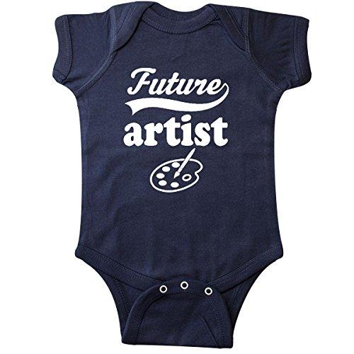 Artist Baby Onesie (inktastic Future artist Art Occupation Infant Creeper 6 Months Navy Blue)
