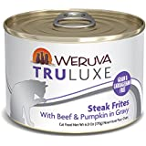 Weruva Truluxe Cat Food, Steak Frites With Beef & Pumpkin In Gravy, 6Oz Can (Pack Of 24)
